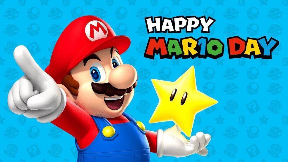 Happy Mario Day! #Mar10Day #gaming #gamers #infogamers #nintendo #mariobros  #videojuegos #NintendoSwitch | Mario day, Mario, Nintendo