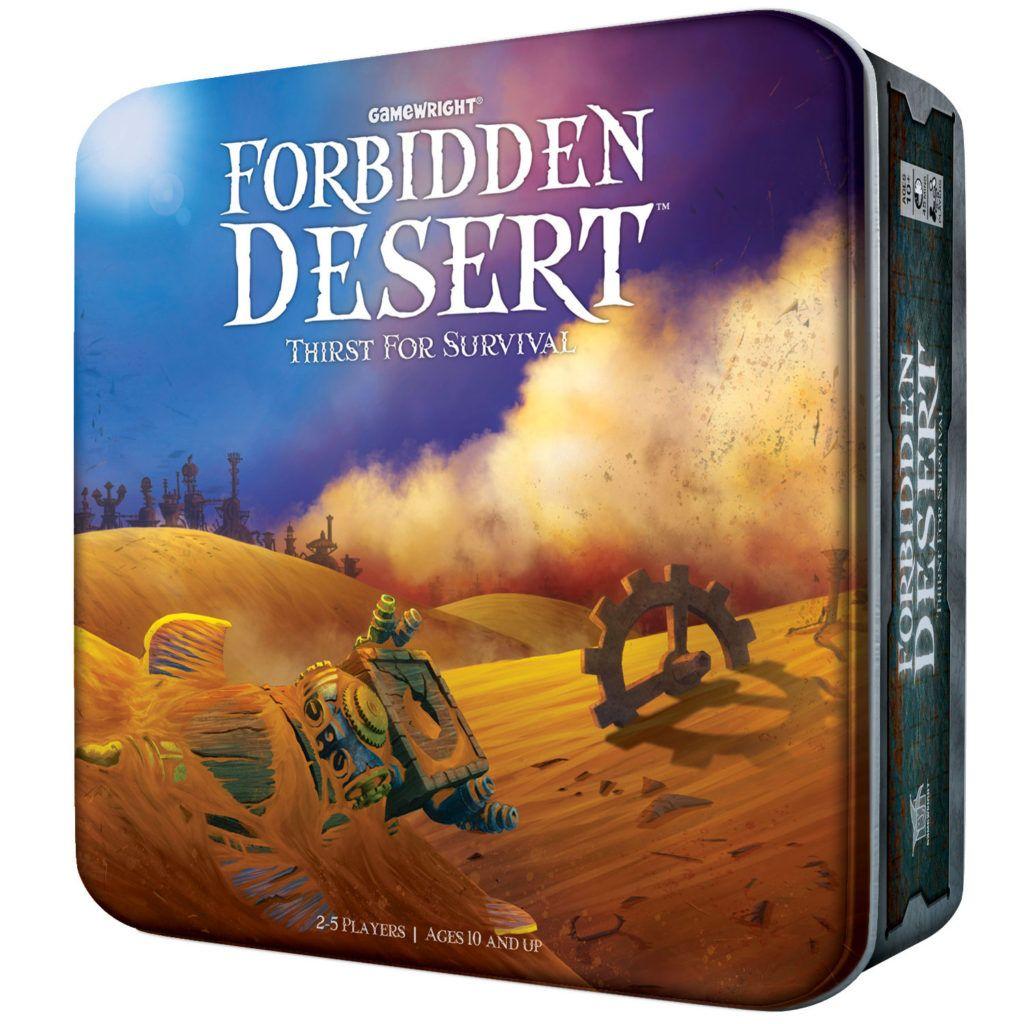 Forbidden Desert Board Game Review Board games, Family