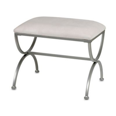 Buy Madison Vanity Bench In Satin Nickel From Bed Bath Beyond