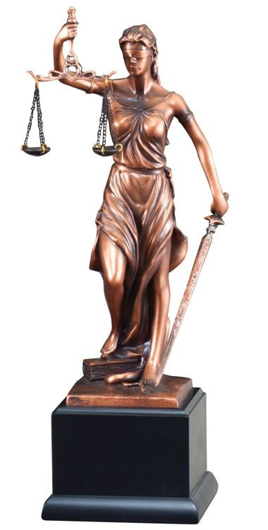 Lady Justice Statue Rfb263 With Free Engraving Justice Statue Lady Justice Statue Statue