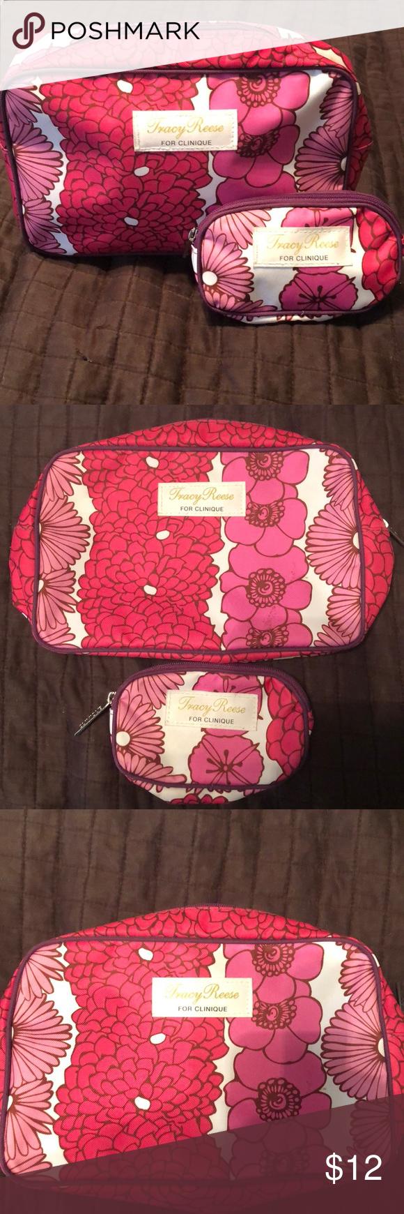 Tracy Reese for Clinique Makeup Bag Set Cute makeup bag