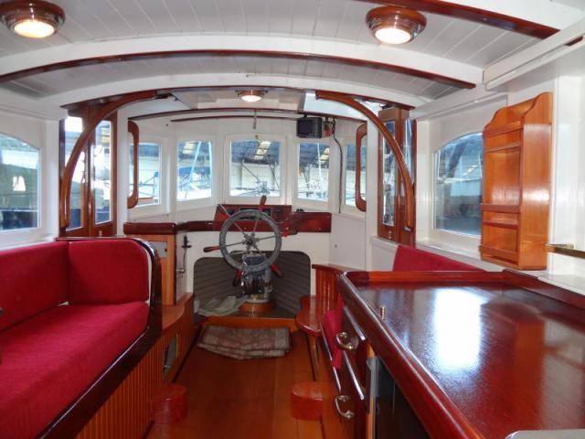 Classic Boat Interior - Google Search