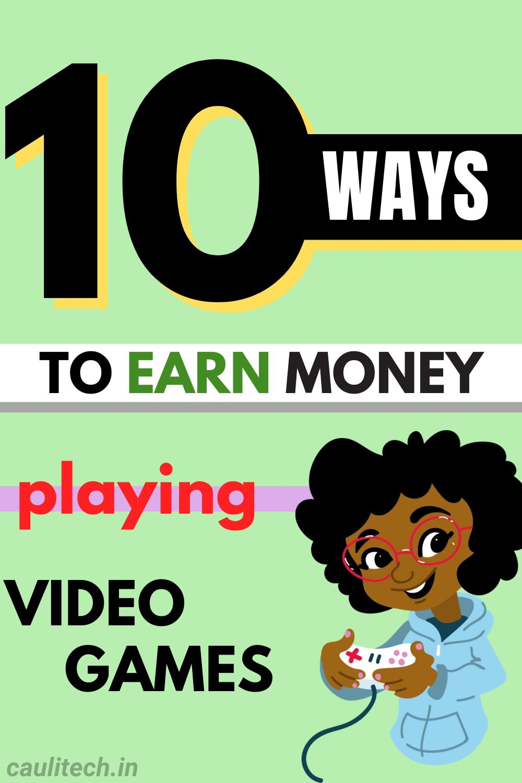 [Legit EARNINGS] Make money playing video games online in