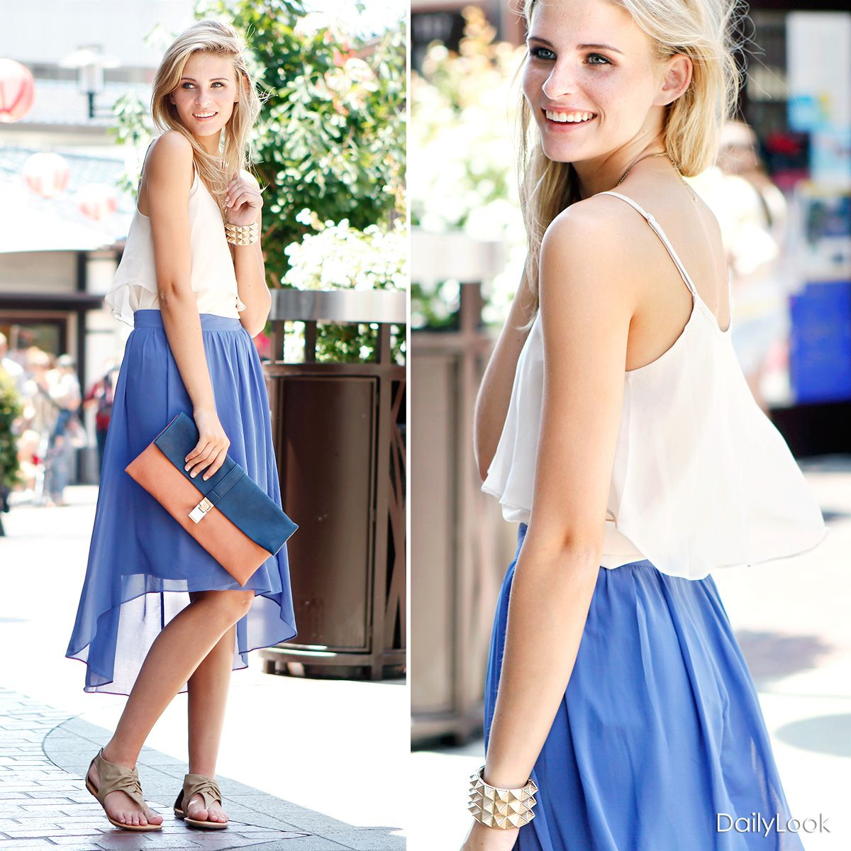 Check out Midsummer Night's Skirt by Alythea and TCEC at DailyLook