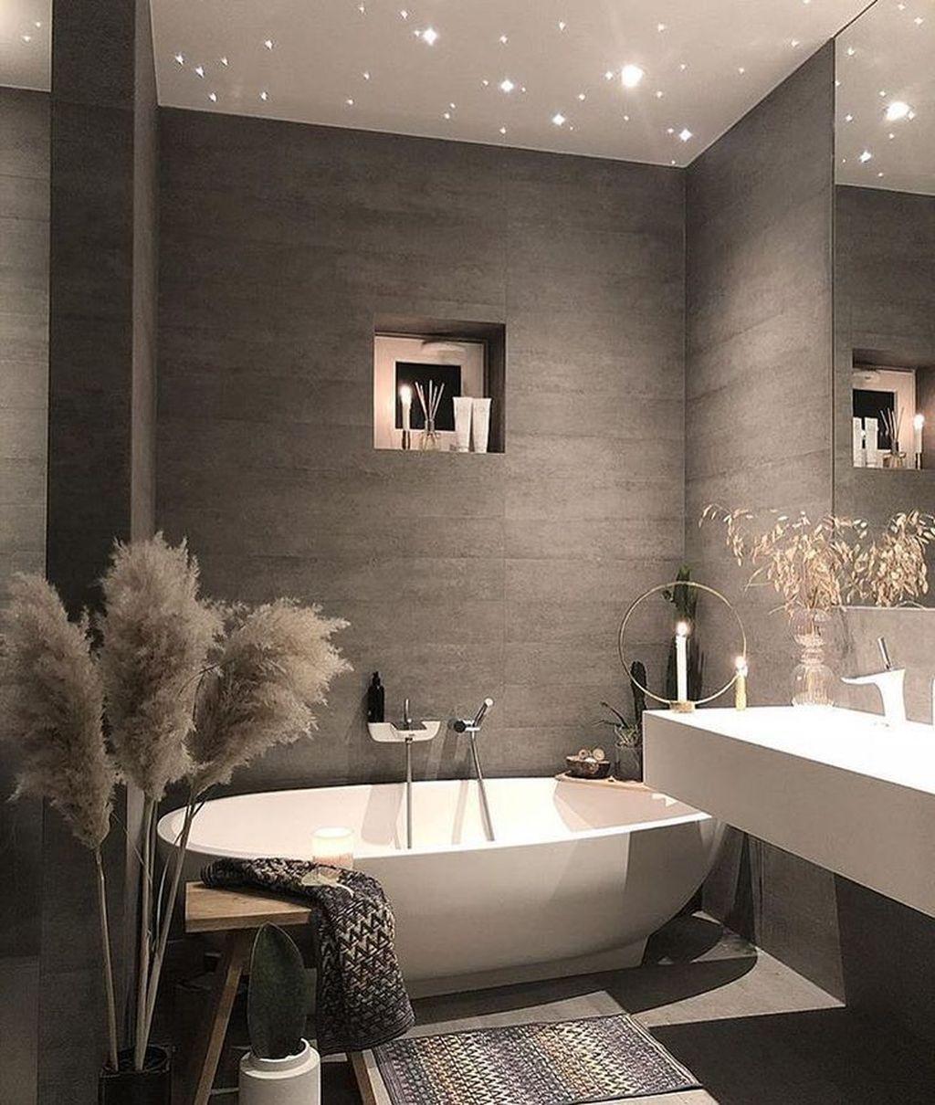 34 Stunning Bathroom Decoration Ideas Trends 2020 Bathrooms Remodel Bathroom Decor Apartment Bathroom Interior
