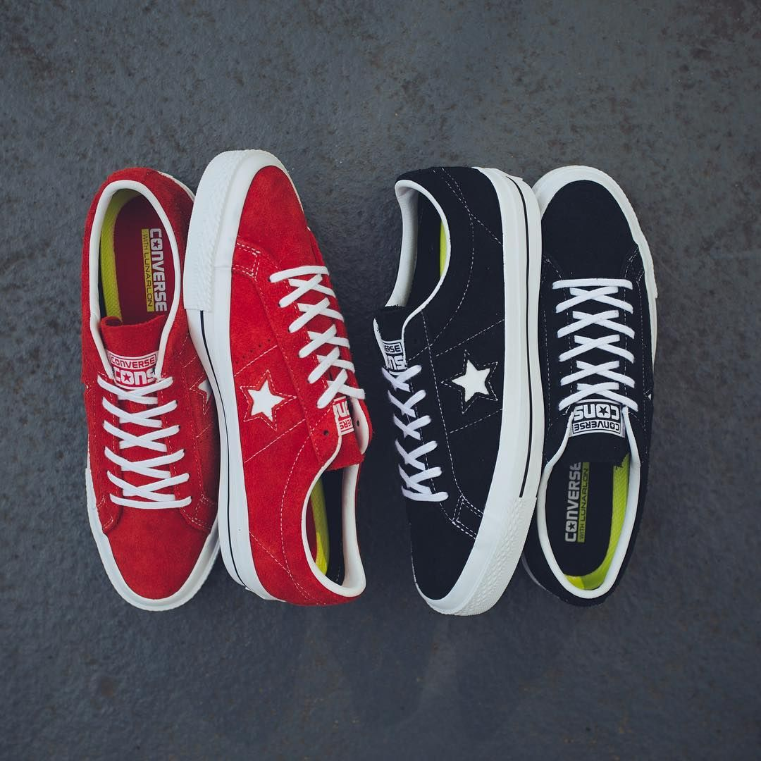 f19c5a7a8f57 Skateboard icons like Guy Mariano or rock stars like Kurt Cobain favoured  the Converse One Star as their everyday sneaker. Now Converse is bringing  back the ...