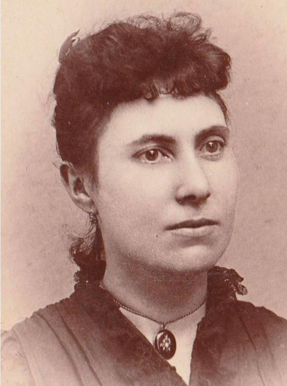 Mary Katharine Haroney, who was better known as Big Nose Kate, circa ...