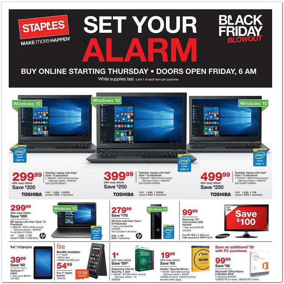 Staples Black Friday Ad 2015 Black friday ads, Black
