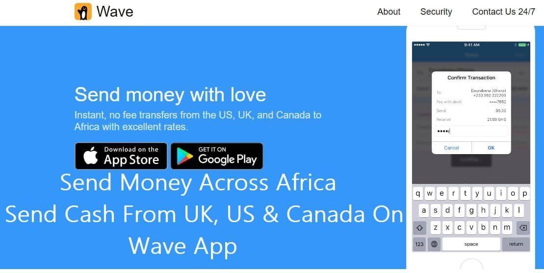 Send Money Across Africa Send Cash From Uk Us Send Money Money Africa