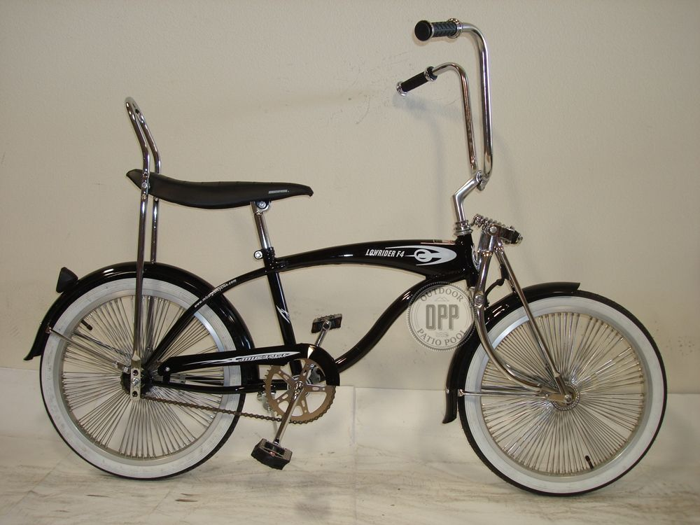 "20/"" Lowrider Beach Cruiser complet avec 140 Spoke Bike Micargi lowriderf 4 Noir"