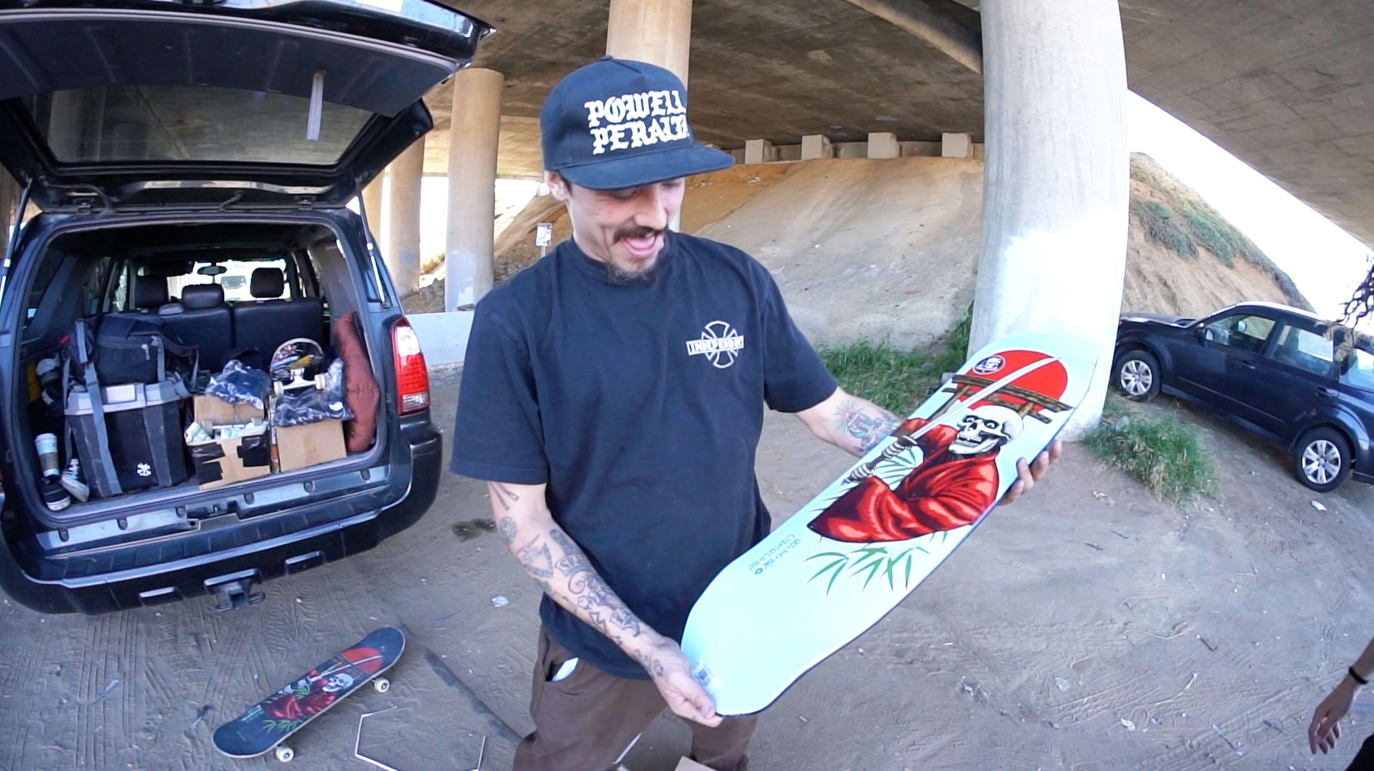 Powell Peralta Pro Charlie Blair Bushido Casket Skateboard Deck 8 75 X 32 Skateboard Decks Classic Skateboard Skateboard