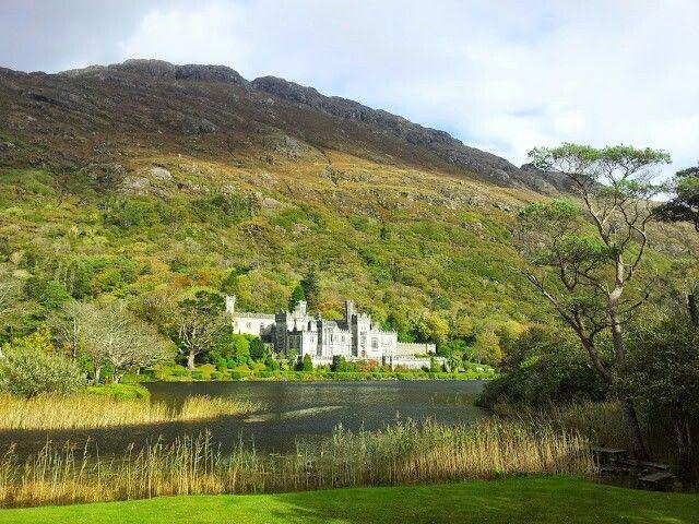 Kylemore Abbey [2014]  #Ireland #travel #abbey #nature