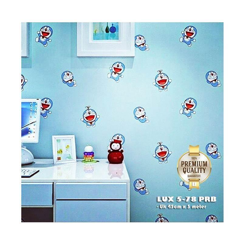 Wallpaper Doraemon Yang Paling Bagus Luxurious Lux 5 78 Prb Wallpaper Sticker Doraemon Wa Living Room Wall Wallpaper Wall Stickers Living Room Wall Wallpaper