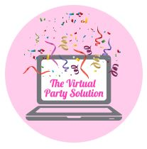 Virtual parties are here to stay. Learn my 5 simple tips for creating a successful virtual party.