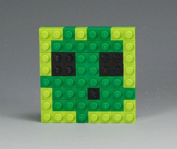 Lego Minecraft Slime head | Lego Minecraft | Lego minecraft