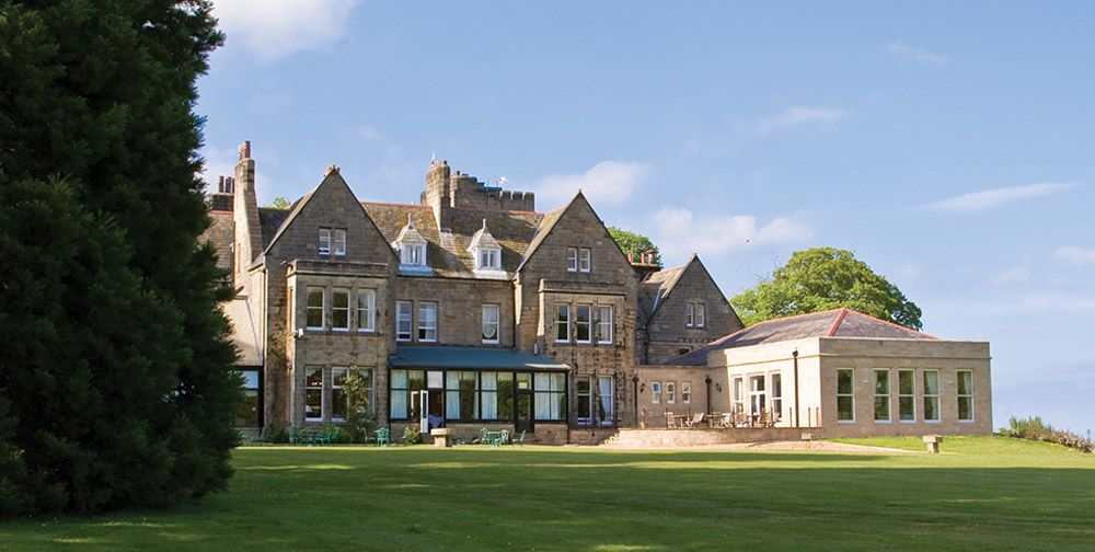 North Yorkshire wedding venue from wwwTheNuptialcouk Grinkle