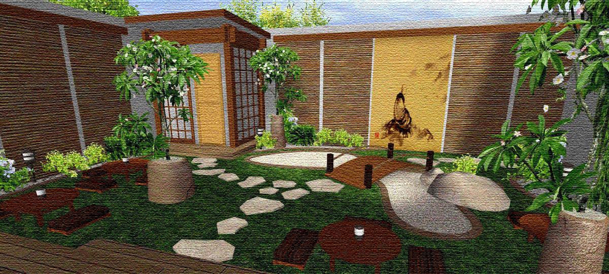 Jardines modernos im genes de casas bonitas jardin for Disenos jardines para patios pequenos