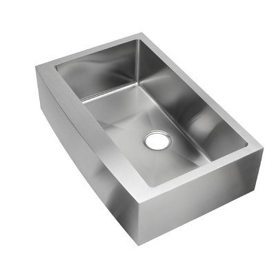 Hahn Evo 32 L X 20 W Farmhouse Kitchen Sink With Drain Assembly In 2019 Farmhouse Sink Kitchen Sink Country Kitchen Sink