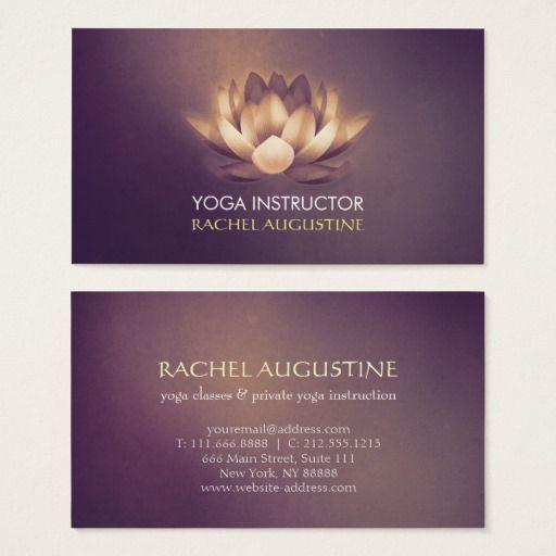 Chic glowing lotus purple grunge yoga instructor business card chic glowing lotus purple grunge yoga instructor business card reheart Images