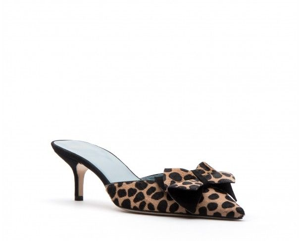 Gigi Kitten Heel Mules Cheetah Kitten heels, Heels