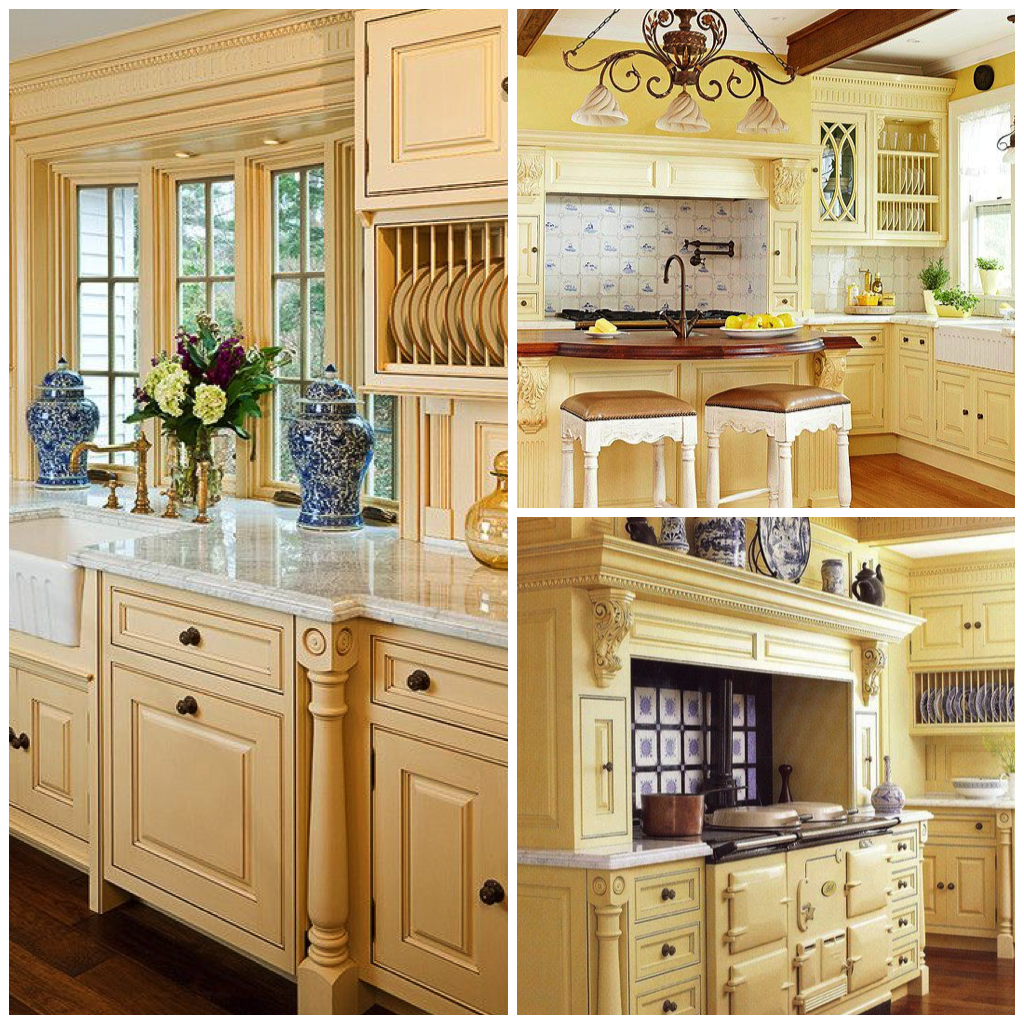 Stay Mellow Four Shades of Sunny Yellow Kitchens   Yellow ...
