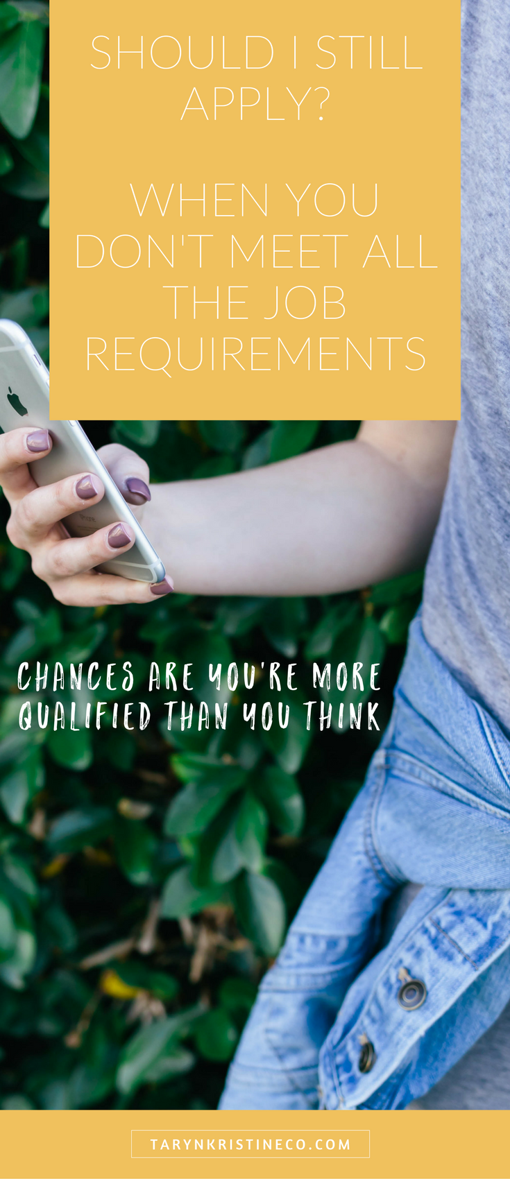 Should You Still Apply When You Don T Meet All The Requirements