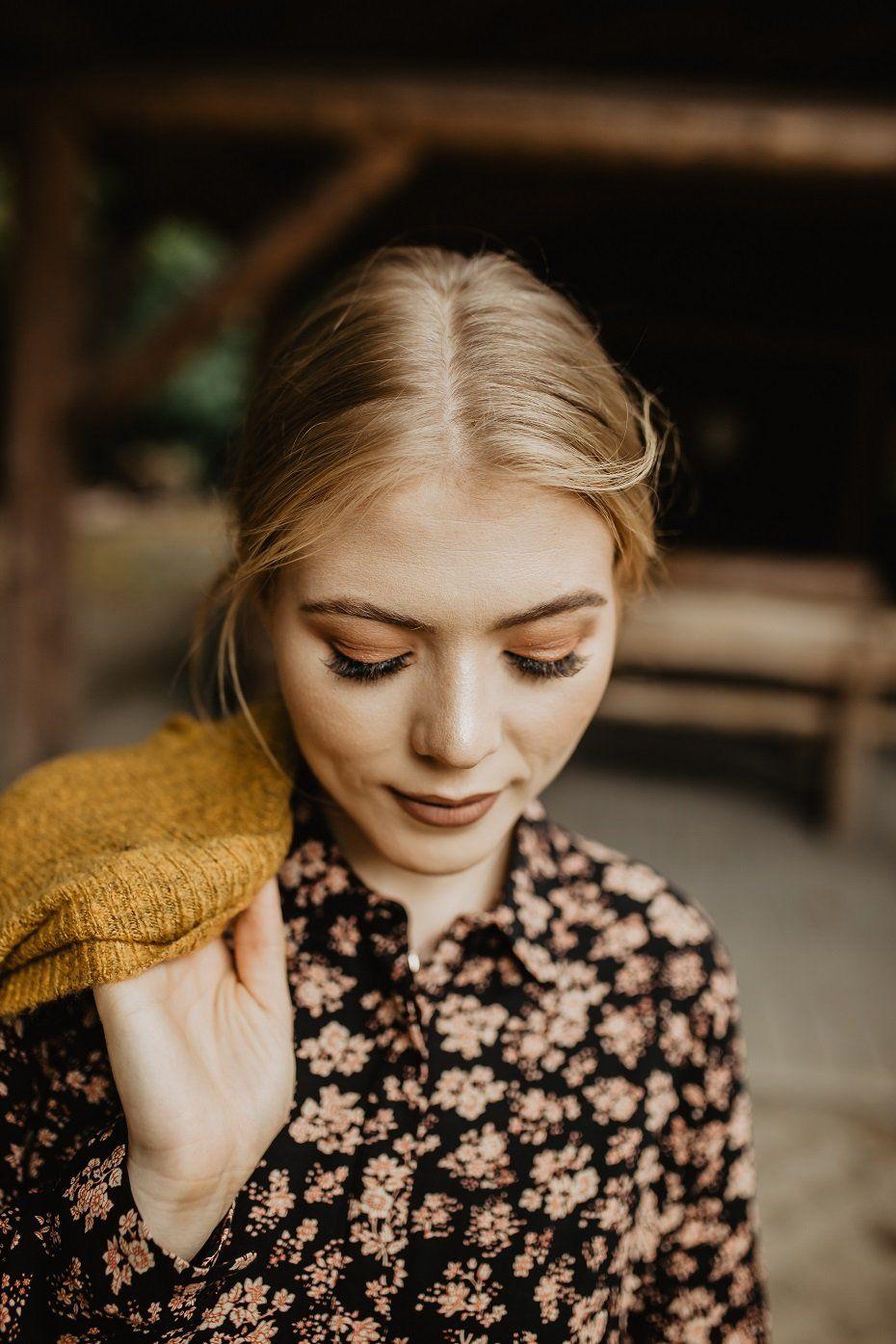 Jesienny Kardigan I Sukienka W Kwiaty Carry Rozalia Autumn Outfit Fall Looks Autumn Dress