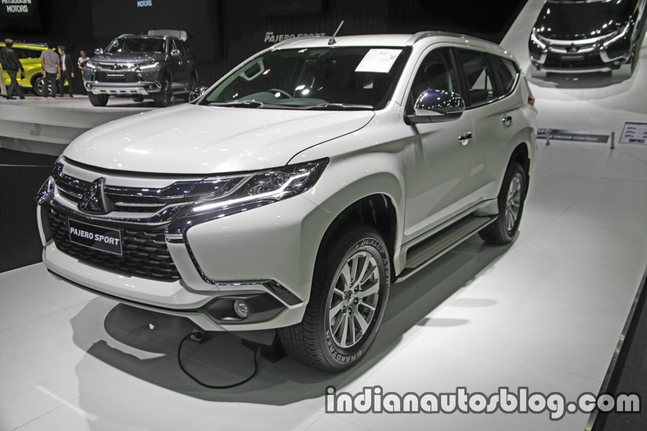 All New Mitsubishi Pajero Sport To Launch In India In April 2018 Mitsubishi Pajero Sport Mitsubishi Pajero Mitsubishi Sports Car
