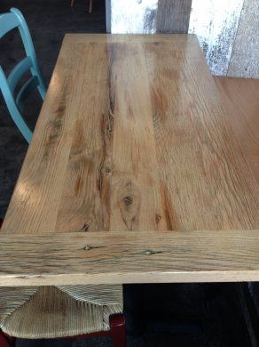 Reclaimed Wood Table Tops Dining Tables Restaurant Furniture