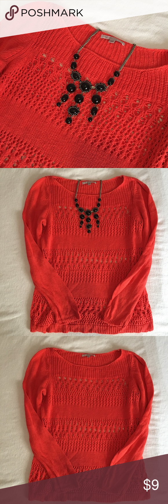 Gap orange sweater size small This is a cute orange sweater from ...