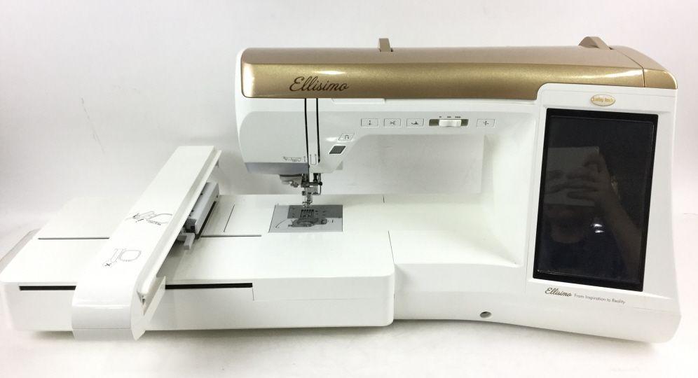Signed Nancy Zieman Baby Lock Ellisimo Sewing Machine SEP 40 40017 Magnificent Ellisimo Sewing Machine
