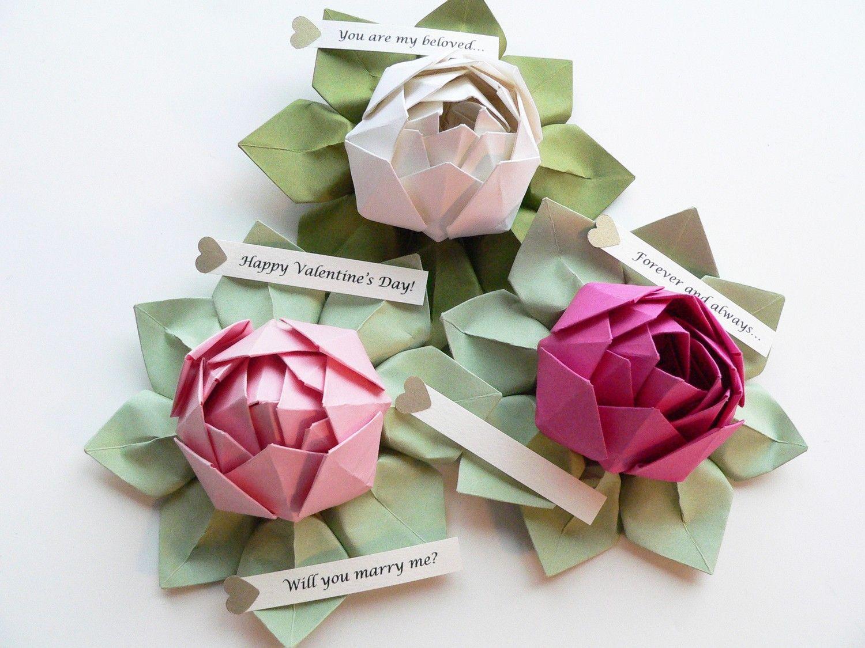 Origami Lotus Flowers Orgami Pinterest Lotus Flowers And Origami