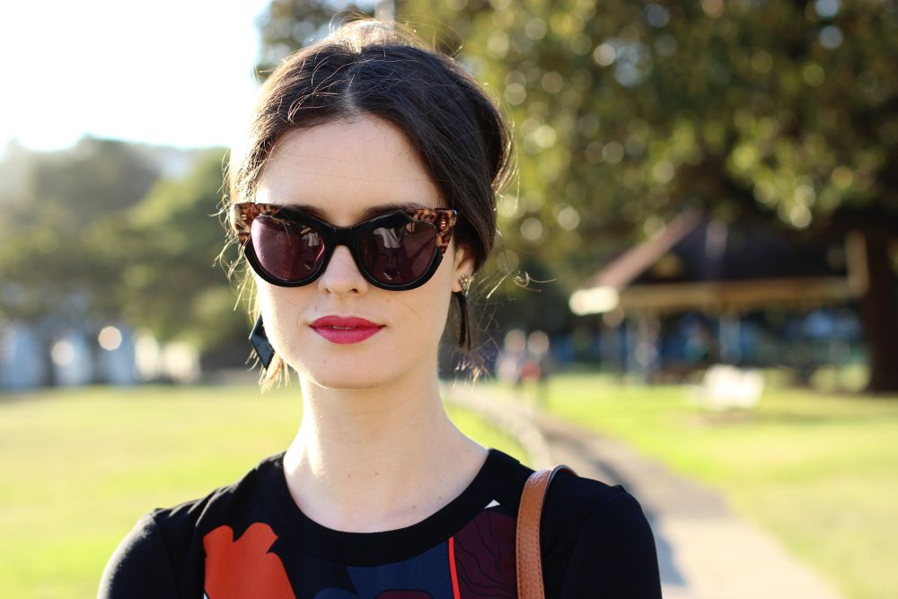 872006173049 BY CHILL SYDNEY STYLE BLOG   Pared Eyewear Puss & Boots sunglasses in black  and leopard