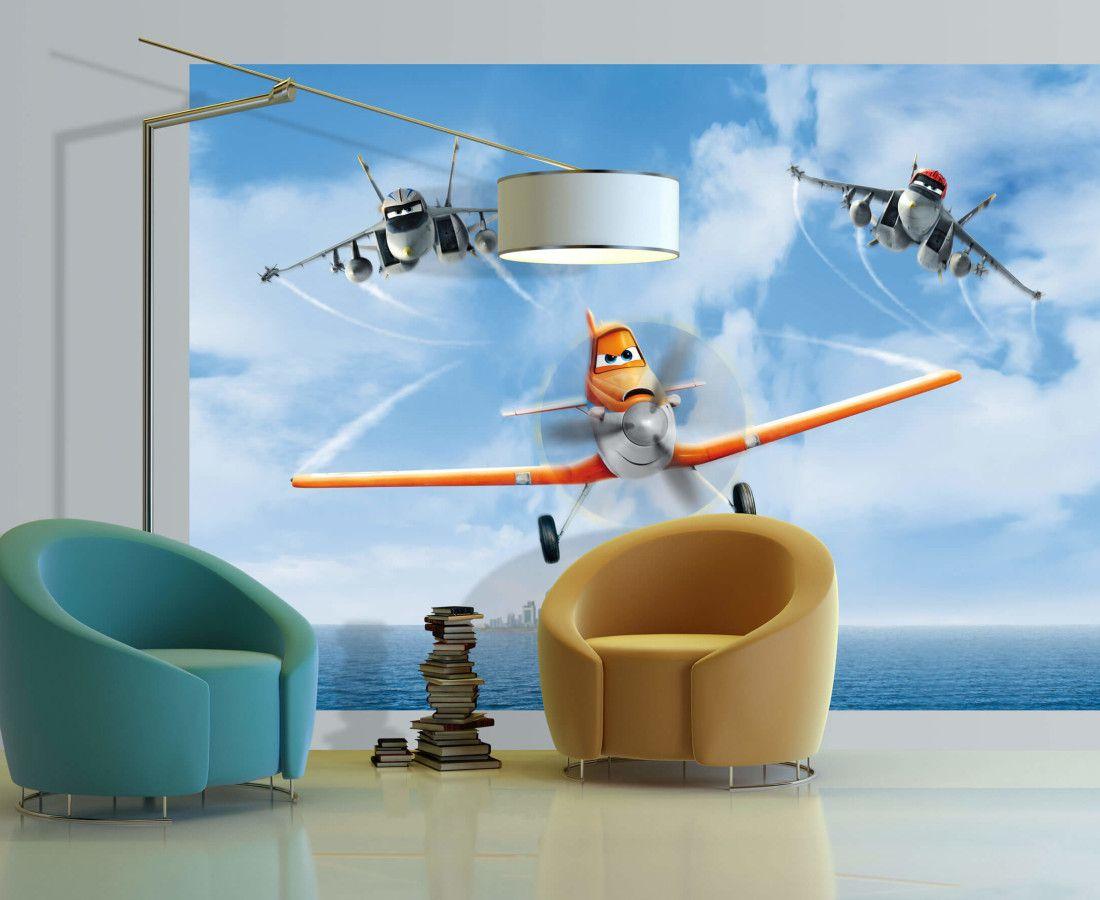 Dusty Planes Kids Disney Wall Mural By Wallandmore Disney Room
