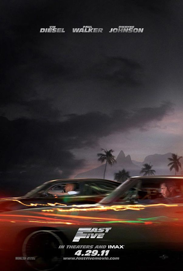 Fast Five Movie Poster Fast Five Fast And Furious Fast Furious 5
