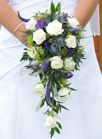Wedding Flowers Scottish Thistle Bridal Bouquet To Match The