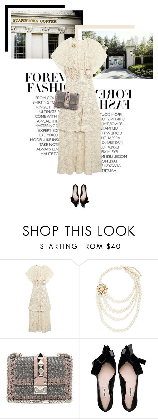 """""""Love me More"""" by veronicamastalli ❤ liked on Polyvore featuring STELLA McCARTNEY and Valentino"""