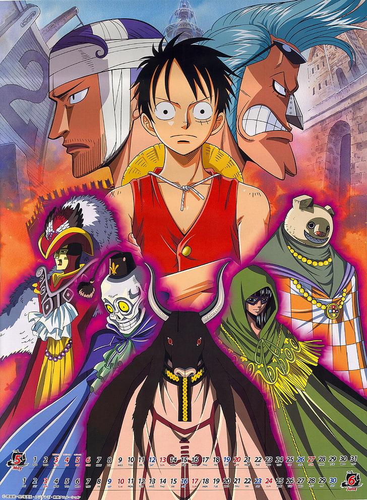 One Piece Anime Calendar Monkey D Luffy Anime One Piece Hd Art Hd Wallpaper Anime Anime One Monkey D Luffy