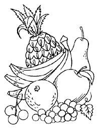 Frutas Para Colorear Con Imagenes Frutas Para Colorear