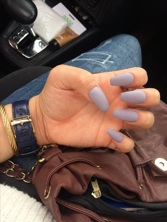 55 Fall Matte Nail Colors To Try This Year Koees Blog