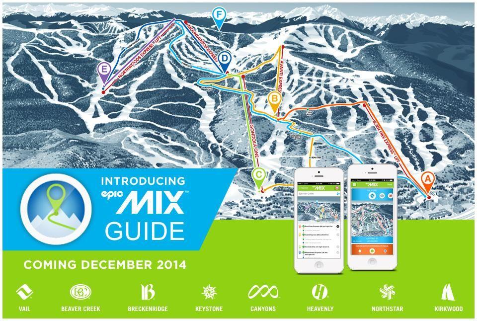 Epicmix Ski Application Epicmix Photos Epicmix Com Resort Websites Vail Resorts Epic