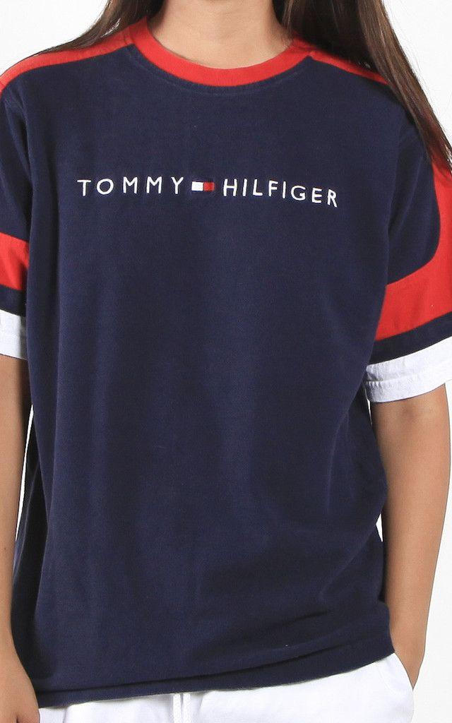Vintage Tommy Hilfiger Tee Frankie Collective Tommy Hilfiger Outfit Tommy Hilfiger Clothes