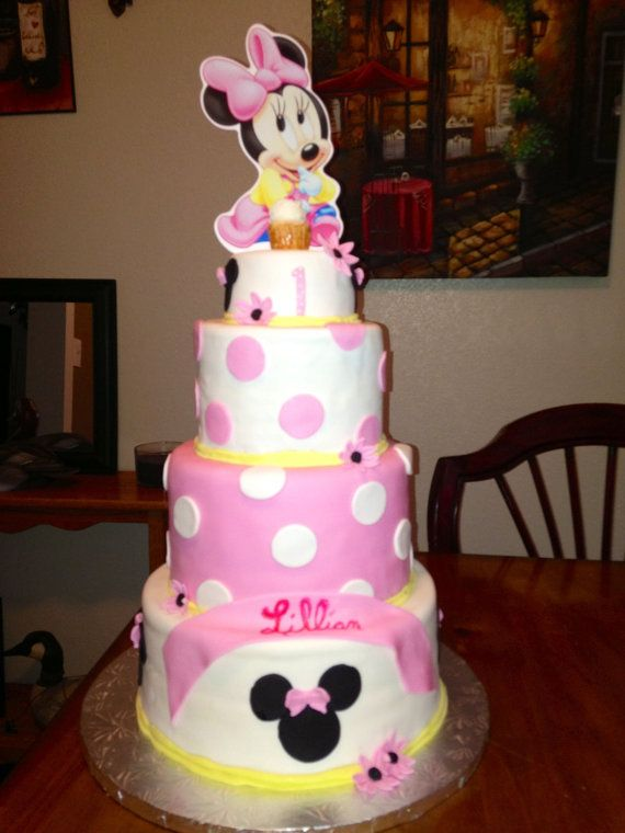 Cake Torta De Minnie Mouse Baby