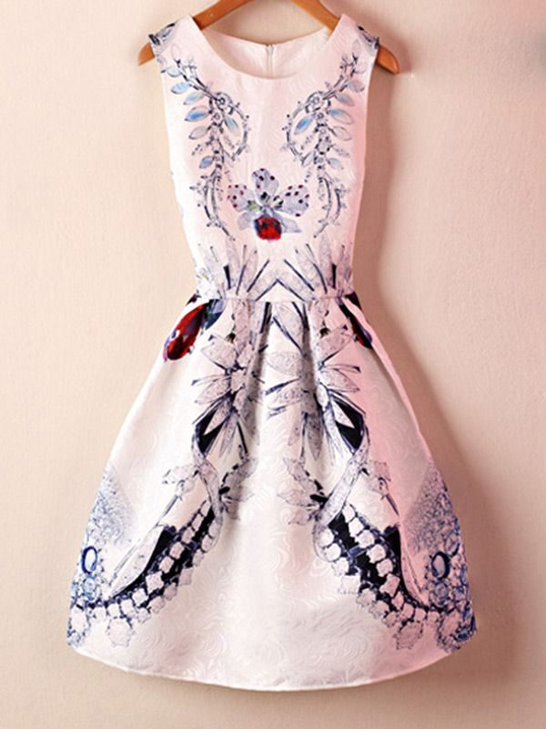 Chic Floral Pattern Chinese Dress European Wedding Dresses Dresses Chinese Dress