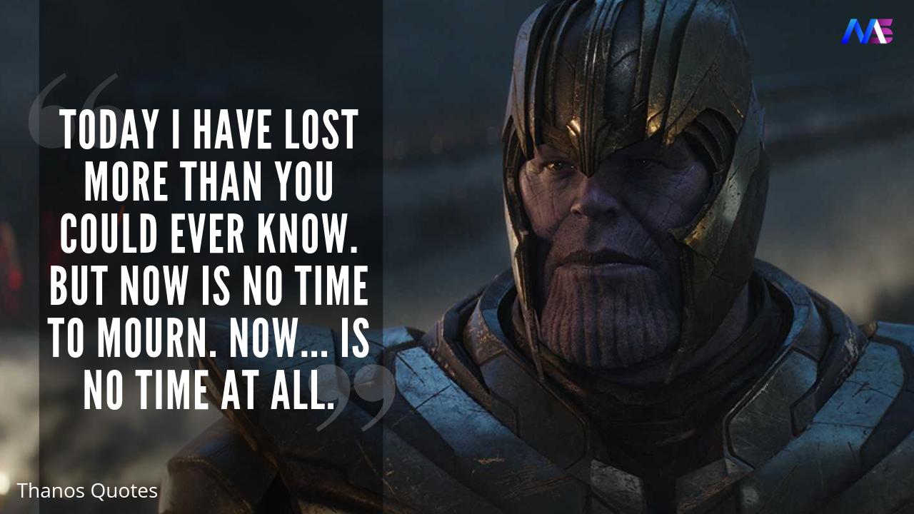 Best Thanos Quotes From Avengers Infinity War Endgame