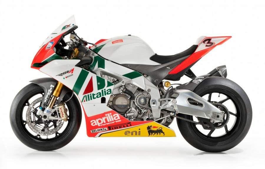 RSV 4 Factory Team Aprilia Alitalia Racing WSBK Superbike, 2010