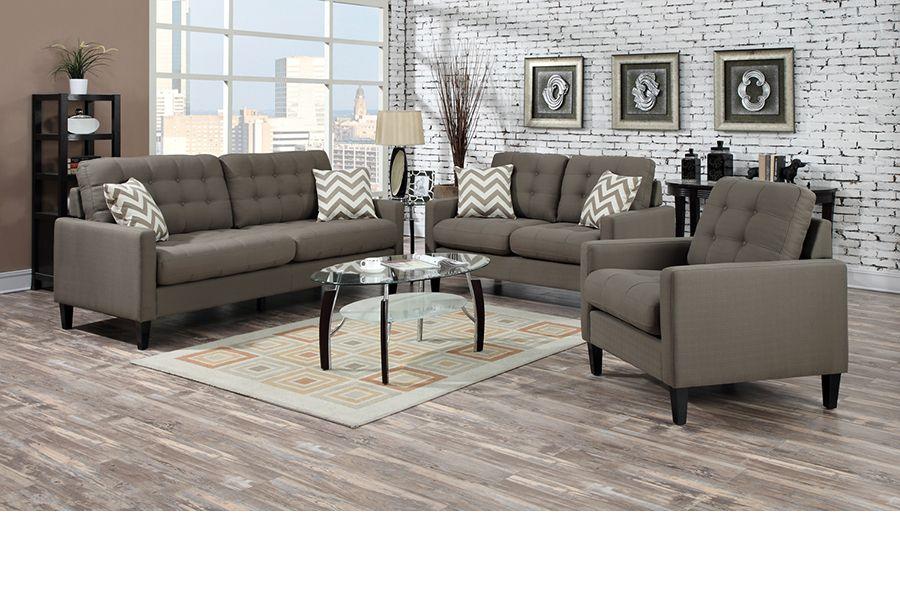 U1308 Hamilton Taupe Sofa Love U0026 Chairs   Furniture Connexion