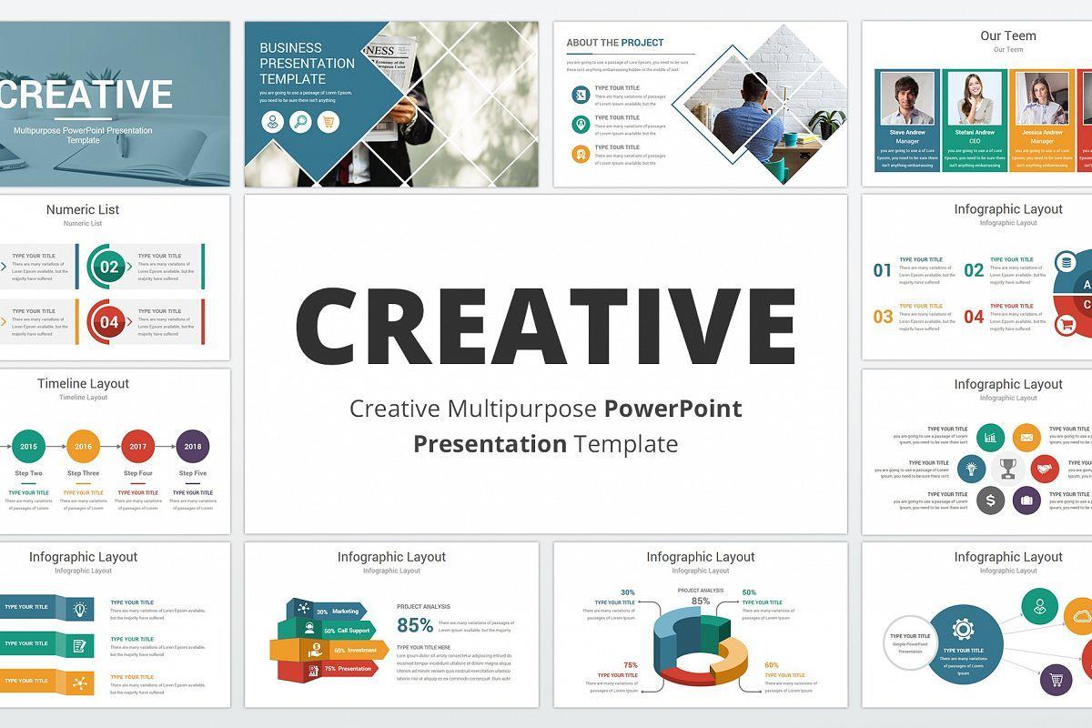 Creative multipurpose PowerPoint Presentation Template