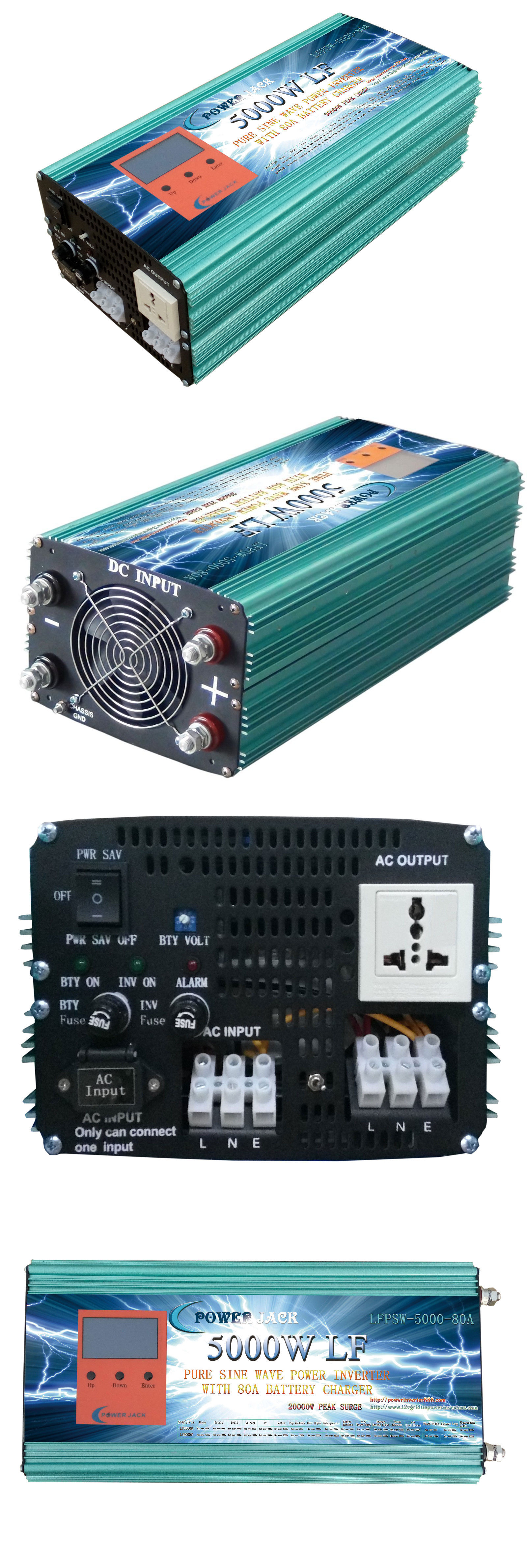 Power Inverters 5000w Lf Psw Solar Inverter Dc 24v Ac 500w Mosfet From 12v To 110v 220v Pure Sine Wave Tool
