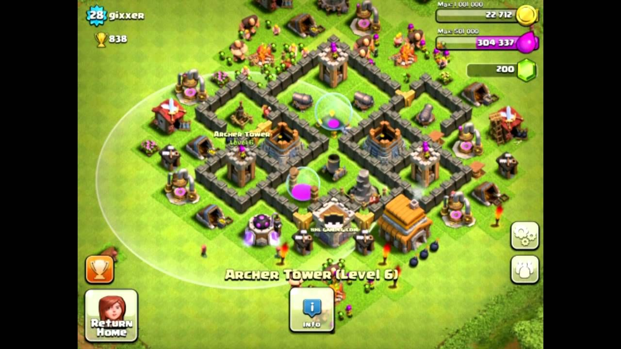 Base Designs Level 5 Ultimate Clash Of Clans Guide Clash Of Clans Clan Cool Websites
